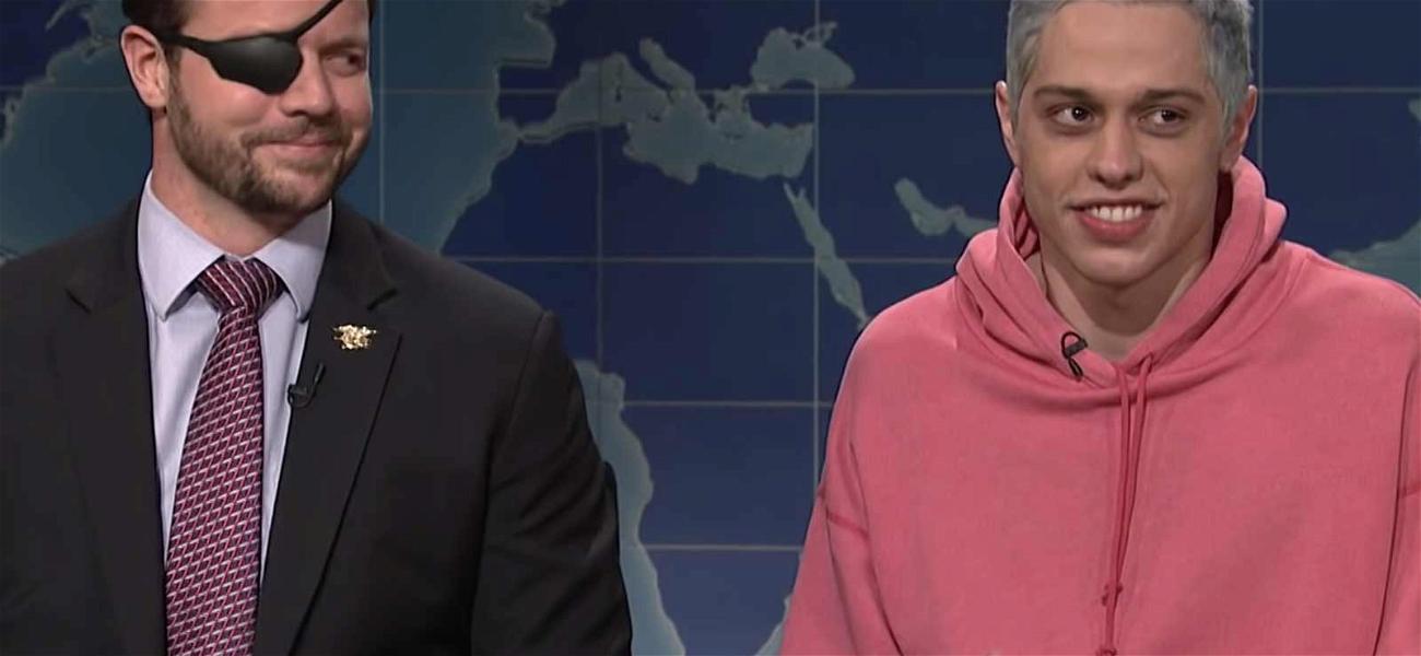 Pete Davidson and Congressman-Elect Dan Crenshaw Trade Jokes During 'SNL' Apology