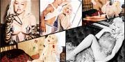 Christina Aguilera's Guns Are Blazing in Bondage Shoot for Galore's Icon Issue