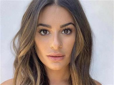 Lea Michele Flaunts Baby Bump In First Pictures Since 'Glee' Scandal