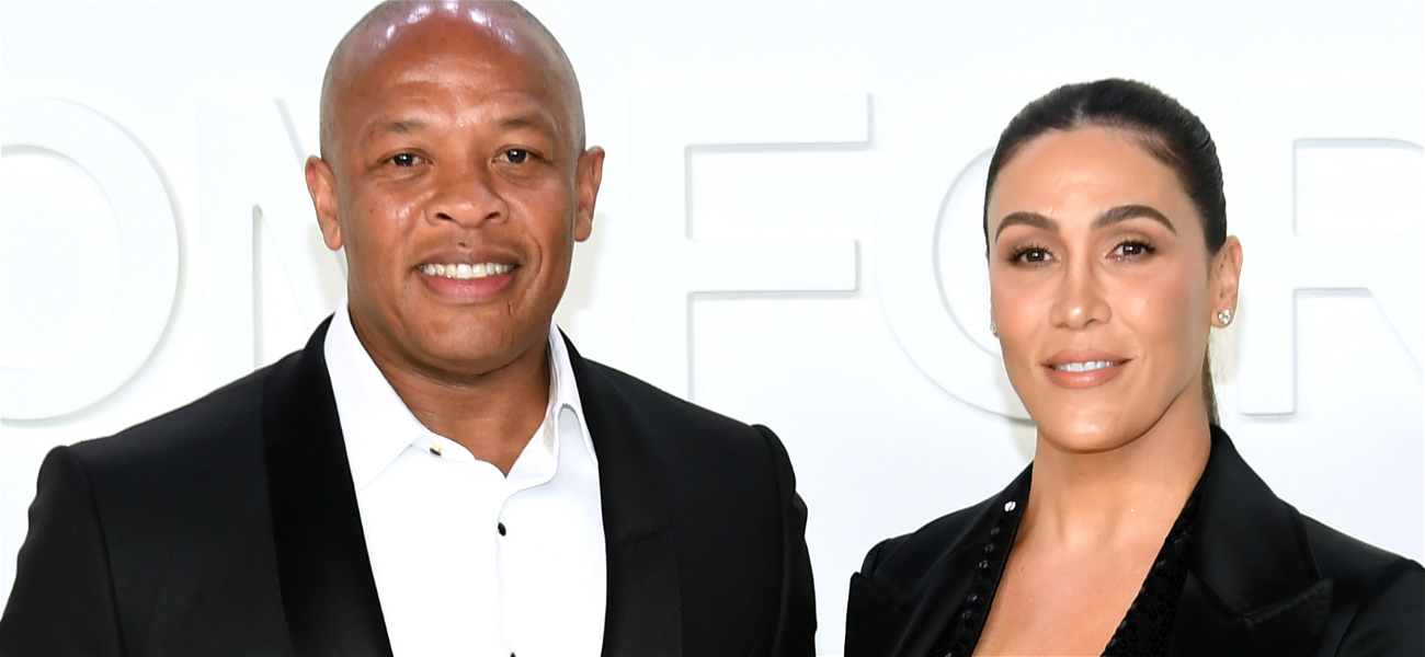Dr. Dre & Wife Nicole Young All Smiles Together Months Before Divorce, No Signs Of Trouble