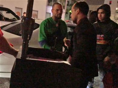 Chris Brown Threatens to Knock Out a Valet Attendant