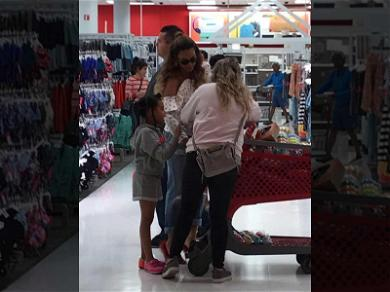 ?Beyoncé and Blue Ivy Went Shopping at Target This Weekend ?