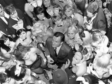 Remembering Hugh Hefner and His Playboy Bunnies On Easter