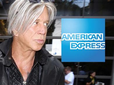Mickey Rourke in the Hole to Amex for $50k