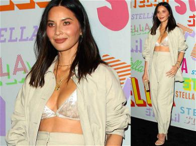 Olivia Munn Breaks Out Her 'My Ex Is Dating a Racecar Driver' Outfit