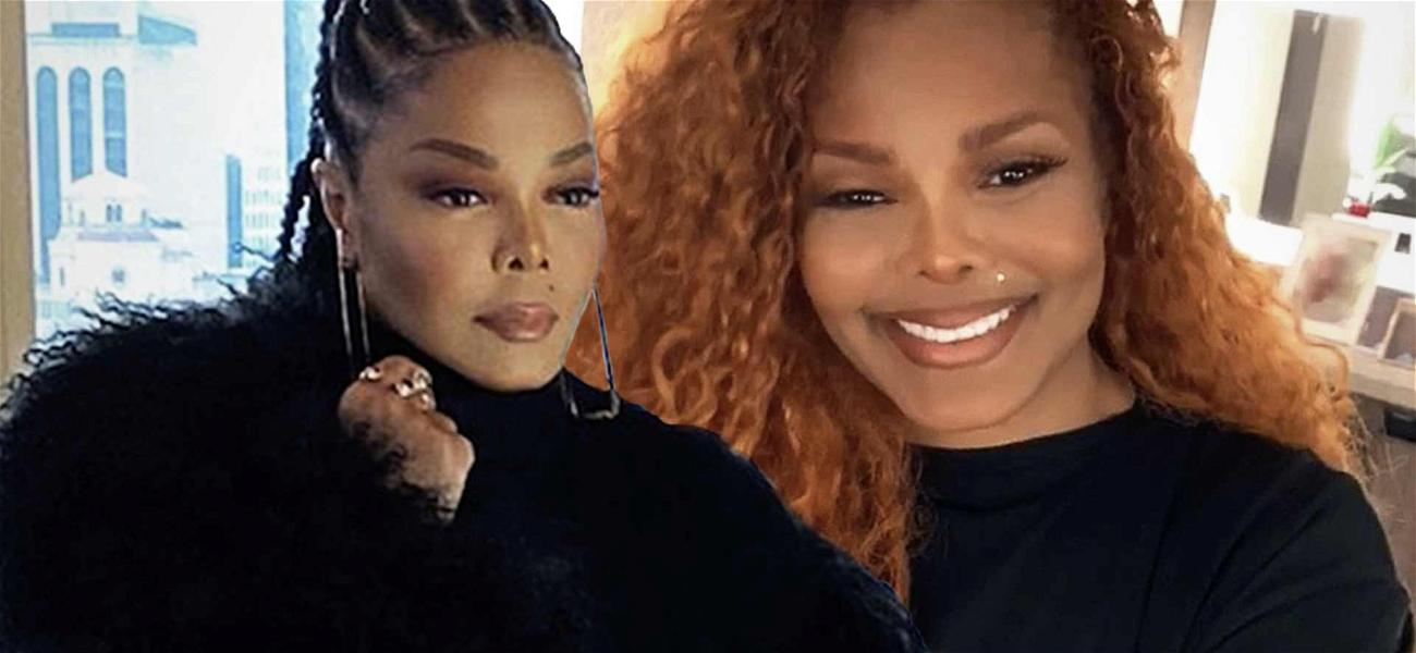 Janet Jackson Looks Red Hot In Thigh-High Boots For Badass Photoshoot