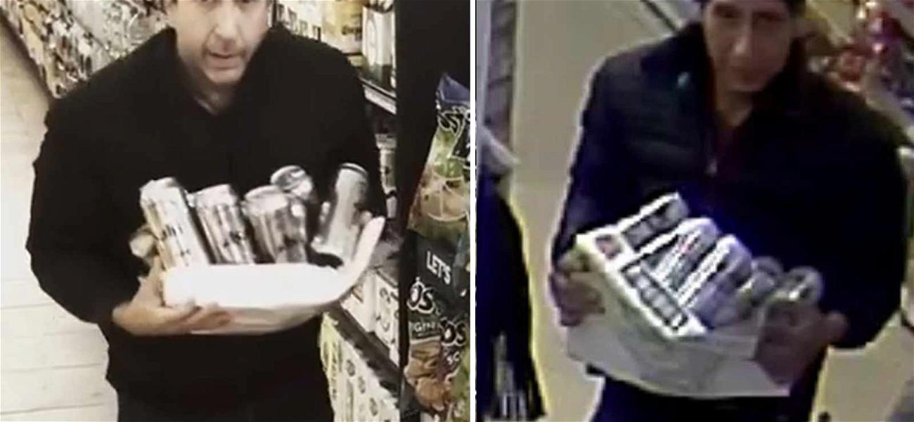 David Schwimmer Creates Hilarious Video After Look-Alike Steals from Market