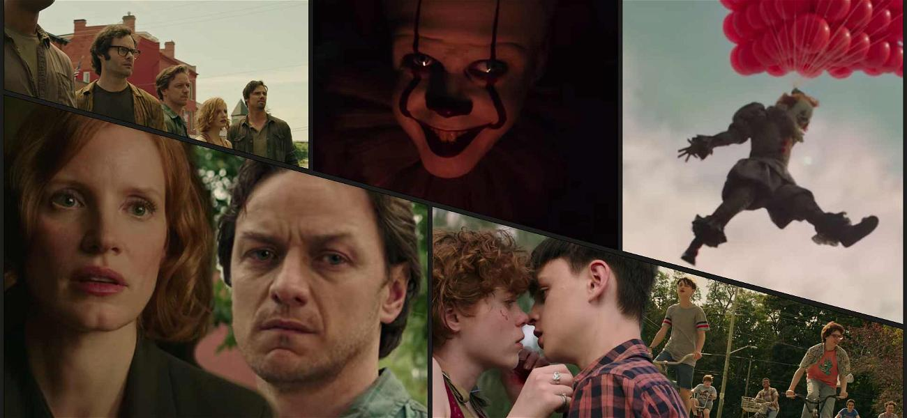 Pennywise Returns to Terrorize 'The Losers' Club' for 'It: Chapter Two' Trailer