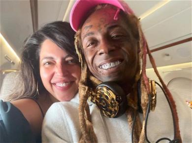 Lil Wayne Chills With Model Girlfriend Denise Bidot Amid Felony Gun Case