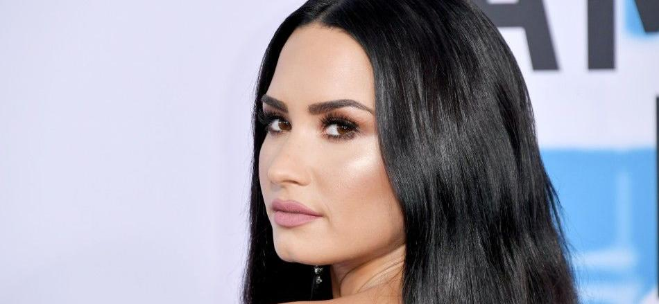 Demi Lovato Shows Instagram Her 'Confident' Self In VERY Low-Cut Top