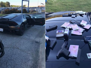Playboi Carti Arrested After Cops Find Xanax, Codeine and Oxycodone In His Lambo — See The Shocking Photos!