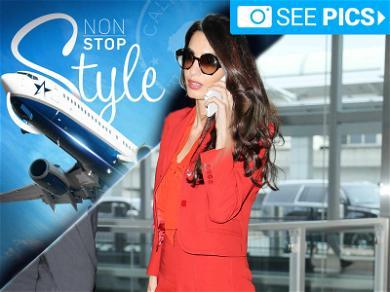 Amal Clooney Looks Beautiful While Saving the World
