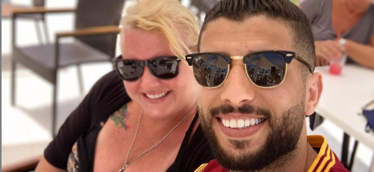 '90 Day Fiance' Star Aladin Jallali Defends His Wife Laura's Weight From Online Trolls
