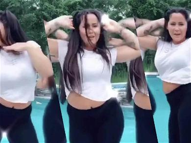 'Teen Mom' Star Jenelle Evans Claps Back At Body Shamers Dancing In Skin-Tight Yoga Pants!