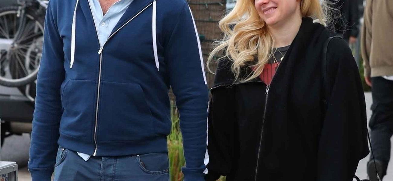 Avril Lavigne Holds Hands With Mystery Man