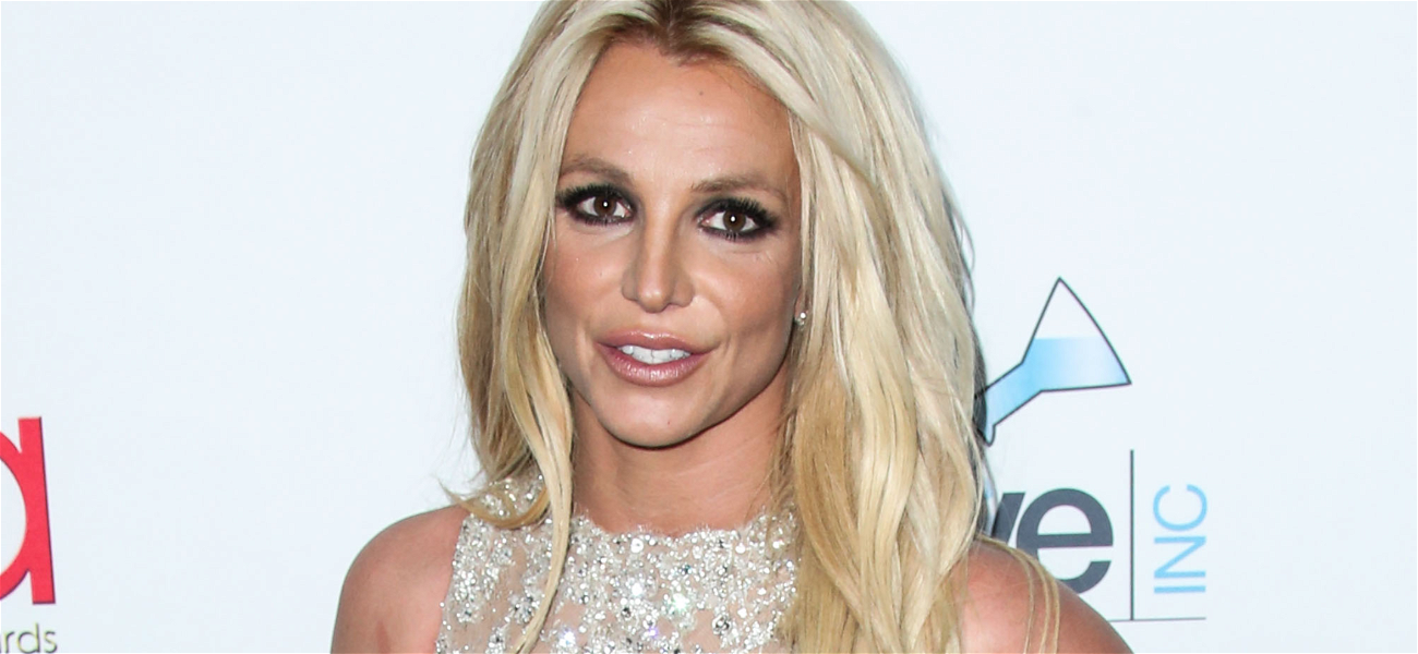 Britney Spears Dances To Madonna In Revealing Red Top