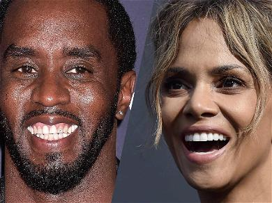 Halle Berry And Diddy Declare It 'F It' Friday With Wine And Weed