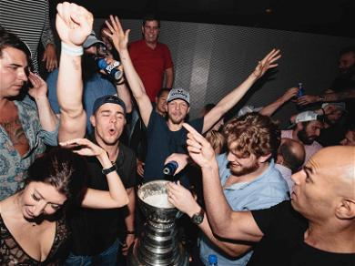 Washington Capitals Celebrate Stanley Cup Win with Tiësto in Las Vegas
