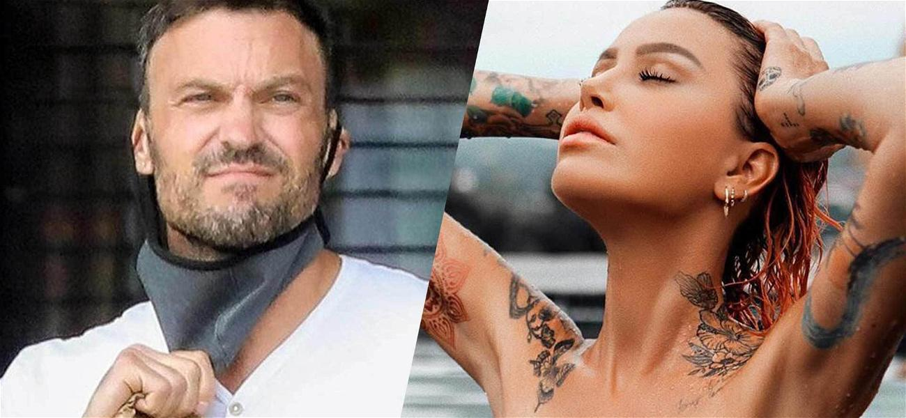 '90210' Star Brian Austin Green SPLITS With Smoking Hot Model Tina Louise After Only A Month!