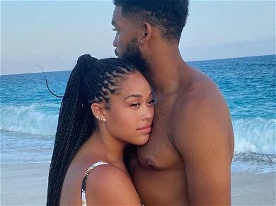 Jordyn Woods Trolled In Swimsuit As New Boyfriend Resembles Tristan Thompson