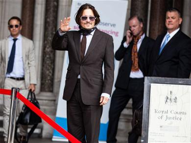 Johnny Depp Sends Love To Fans Amid Court Brawl With Ex-Wife Amber Heard