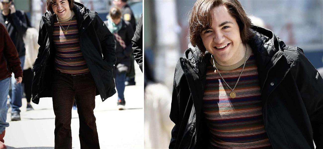 Michael Gandolfini Shows Off Long Hair and Bell-Bottoms as He Becomes Young Tony Soprano