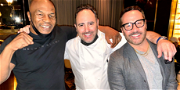 Mike Tyson, Jeremy Piven Party at Las Vegas' Newest Resort