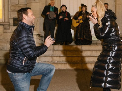 'RHONY' Star Tinsley Mortimer Shares Scott Kluth Proposal Photo, Massive Engagement Ring