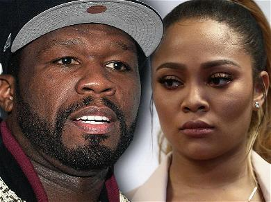 50 Cent Slaps 'Love & Hip Hop' Star Teairra Mari With Legal Papers at an Airport