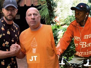 Justin Timberlake Seen In the Recording Studio With Pharrell, Brandy & Ray J