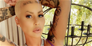 Amber Rose Trolled Over Forehead Tattoo Of Son's Names: 'You Ruined Your Face!'