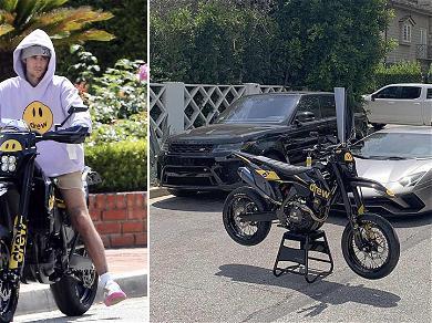 Justin Bieber Adds Custom Drew Bike to Luxury Vehicle Collection