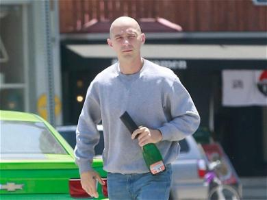Shia LaBeouf Is Hardly Recognizable With New Hairless Look