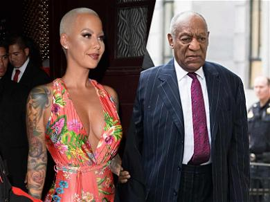 Amber Rose Hopes Bill Cosby Drops Dead … AFTER He Serves His Prison Sentence