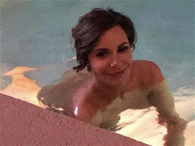 'RHONY' Star Luann de Lesseps Cools Down With Skinny Dip After Scolding from Probation Officer