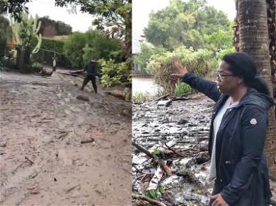 Oprah Shows Mudslide Damage at Montecito Estate