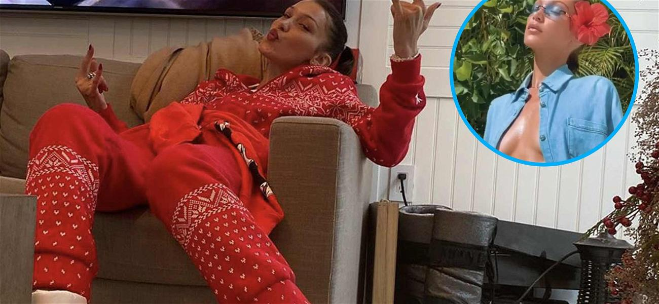 Bella Hadid Leaves Little To The Imagination With Hypnotic Pose