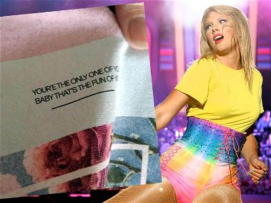 Taylor Swift's Typo on Merch Shirts Sparks Wild Theories Among Fans