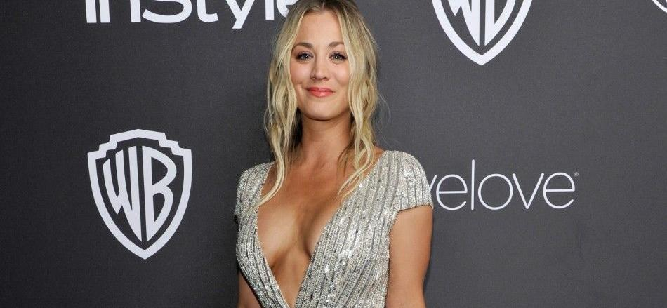 Kaley Cuoco Looks Drop-Dead Gorgeous In Bed With Pigtail Buns To Show A Good Heart