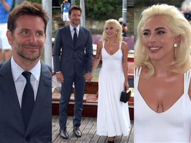 Lady Gaga & Bradley Cooper Get Sun-Kissed in Venice for 'A Star Is Born'