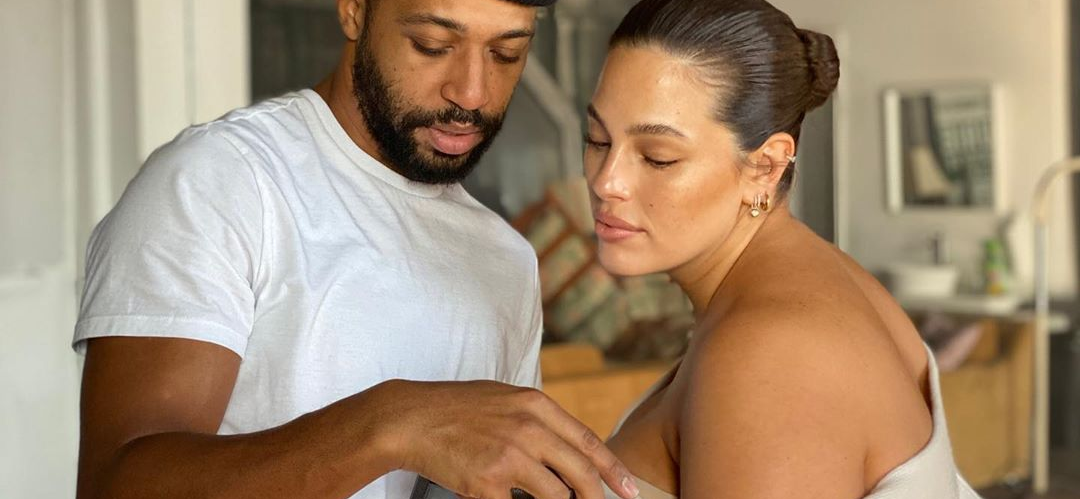 Ashley Graham Poses for One Last Nude Photo Shoot for the Year