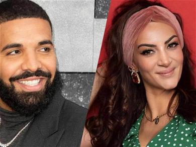 Drake's Baby Mama Sophie Brussaux Stuns In Black And White Throwback