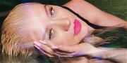 Christina Aguilera Unbuttoned In Leather For Super Bowl Strut
