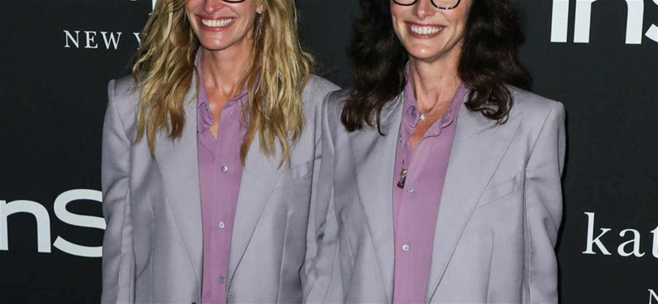 Julia Roberts Dons Exact Same Outfit as Her Stylist During InStyle Awards