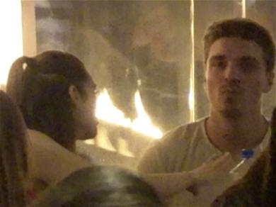 'Bachelor' Stars Dean and Ashley Get Handsy on Dinner Date