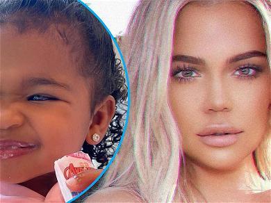 Khloe Kardashian Shares Adorable Buck Teeth Pic On Daughter True: 'My Baby Bunny'
