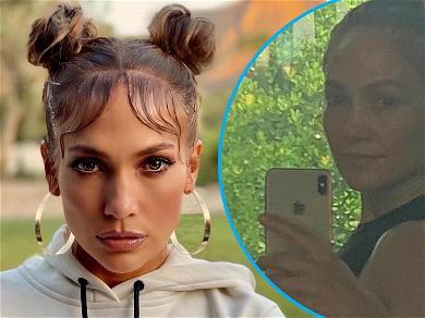 Jennifer Lopez Flaunts Trim Figure For Post-51st Birthday Celebration Workout