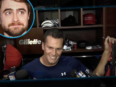 Harry Potter Hates the New England Patriots, Wants Them to Lose Super Bowl