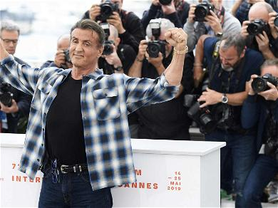 Sly Stallone Wins the Cannes Film Festival Award for Most Underdressed Lead Actor