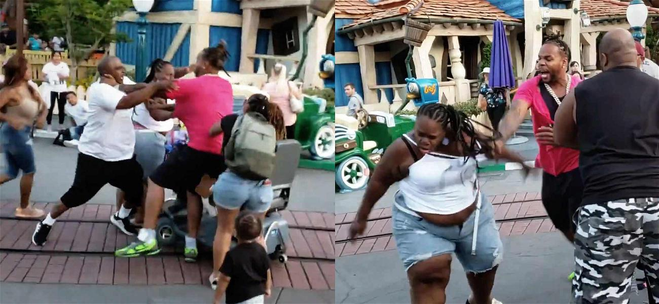 Disneyland Fight Aggressors Facing Possible Criminal Charges After Video Goes Viral